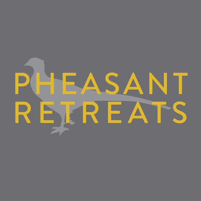 Pheasant Retreats: Logo, branding, marketing