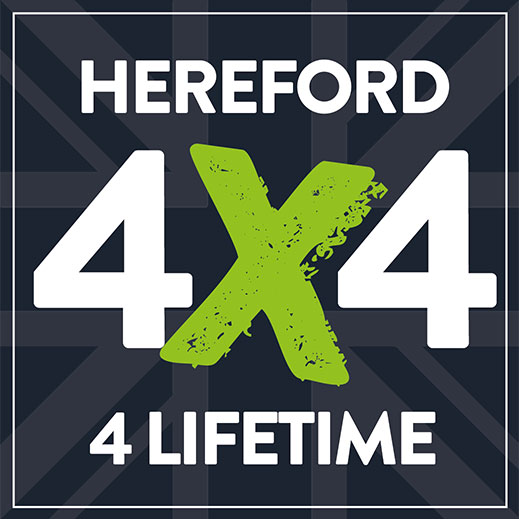 Hereford4x4: Logo, Branding, Website